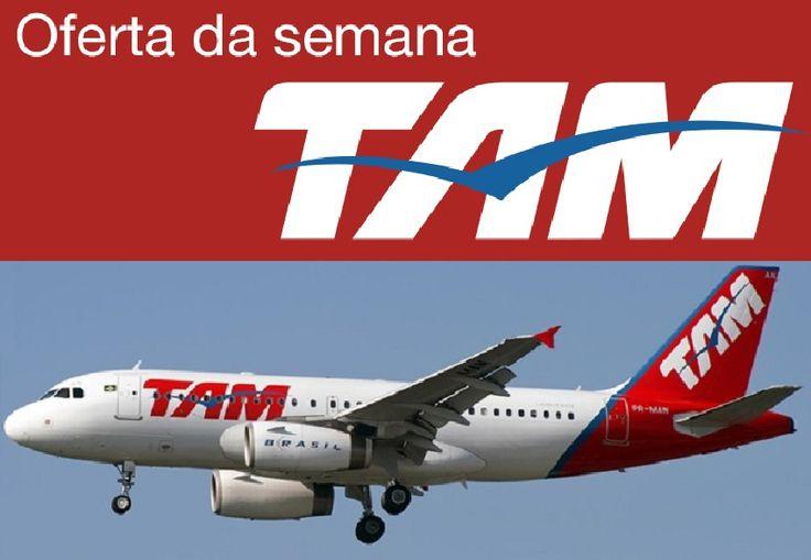 Aproveite as promoções da semana e programe logo sua viagem voando TAM. Conheça as ofertas de passagens aéreas para destinos nacionais e internacionais.