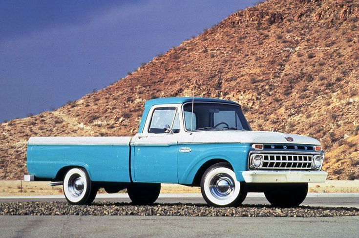 Pictures Of Classic Ford Pickup Trucks 1965 Ford F 100 Pickup