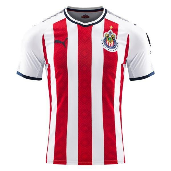 Puma Chivas Youth Home Jersey 17/18 (Red/White)