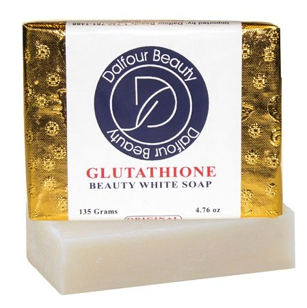New Bigger Size 135g!!! Dalfour Beauty Gold Foil Glutathione Whitening Soap