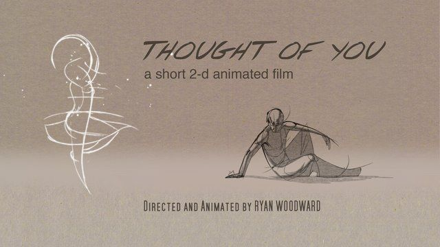 Thought of You by Ryan J Woodward. Info on the full exhibition of art that includes animation and figurative works visit: www.conteanimated.com