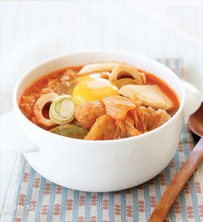 김치어묵국밥