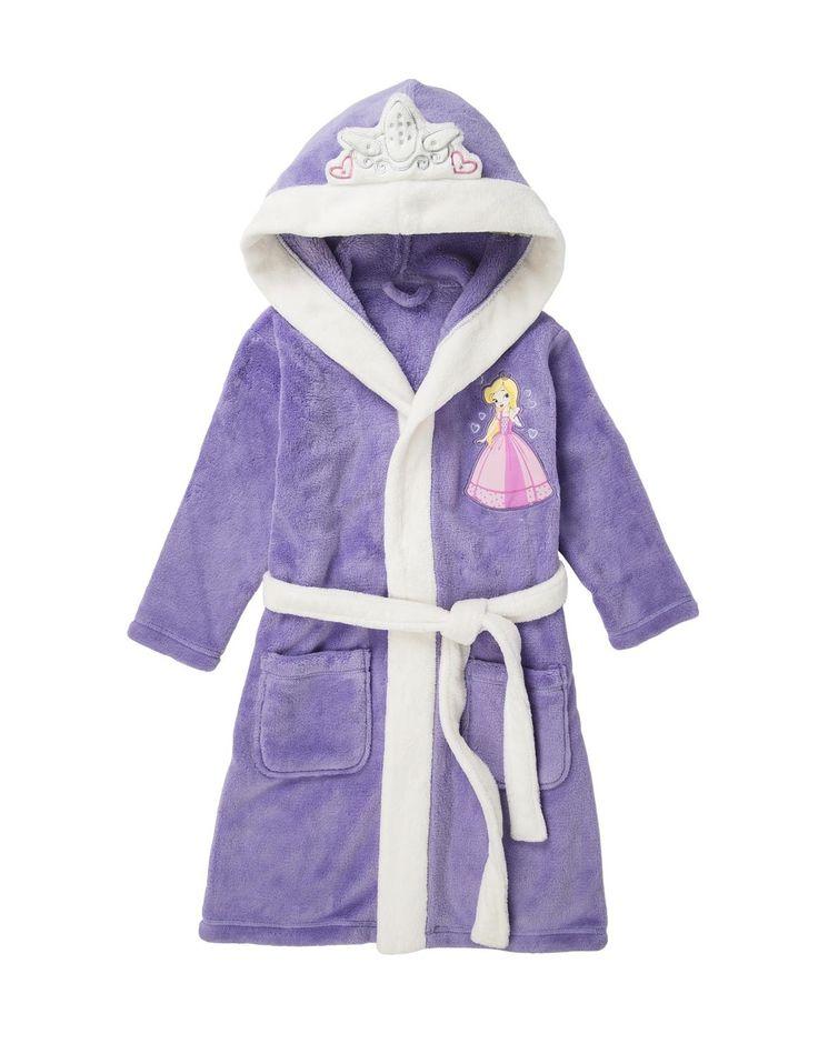 'Crown' Fleece Gown
