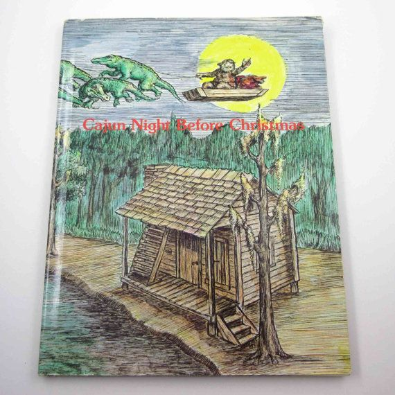 Hey, I found this really awesome Etsy listing at https://www.etsy.com/listing/253953109/cajun-night-before-christmas-vintage