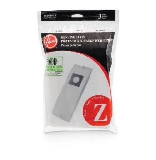 """Hoover """"Z"""" Allergen Bag Hoover Part # 4010100Z >> #VacuumBags #DirtBags #Vacuums #Hoover"""