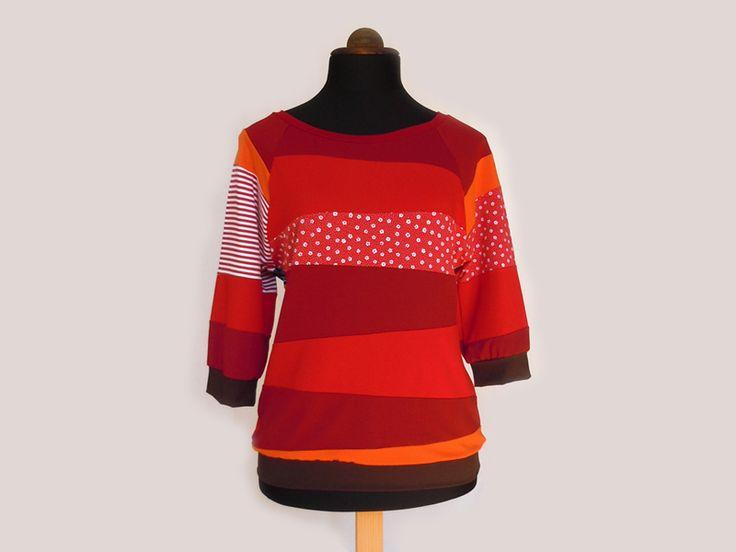 Upcycled - Patchwork sweatshirt - sweater