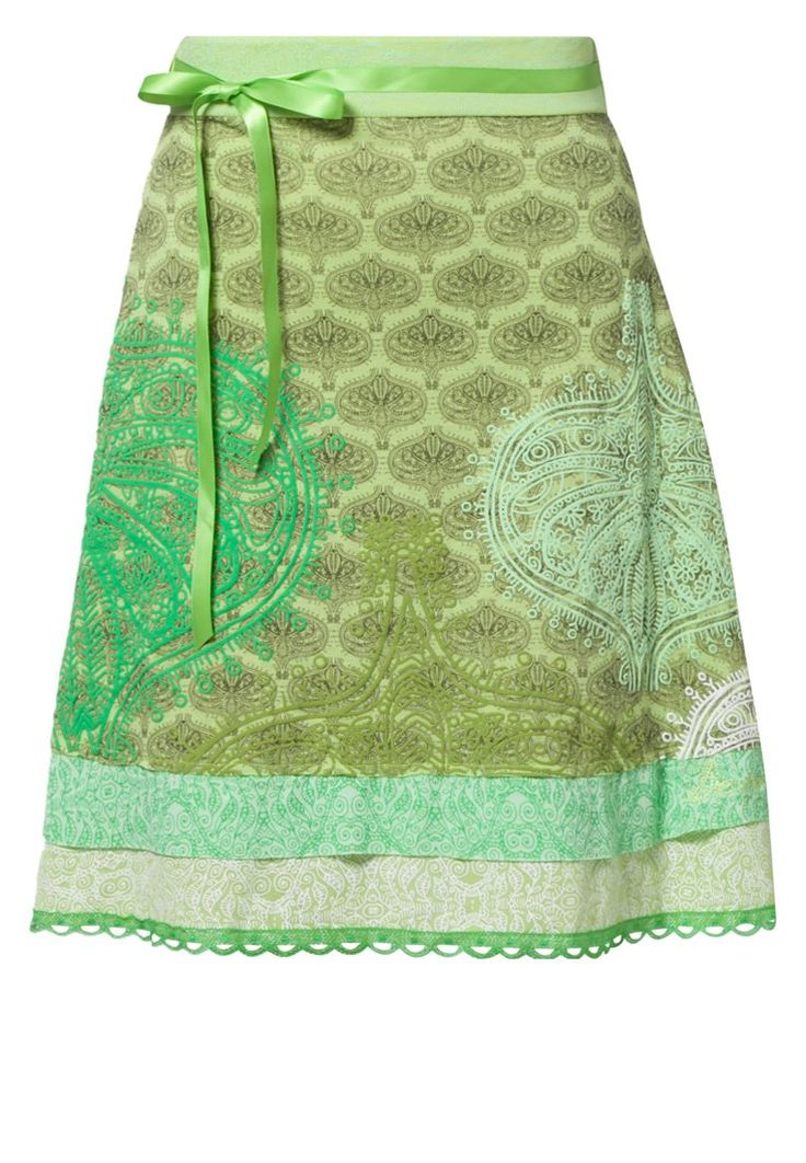 Desigual  LONELY GIRL - A-line skirt - green