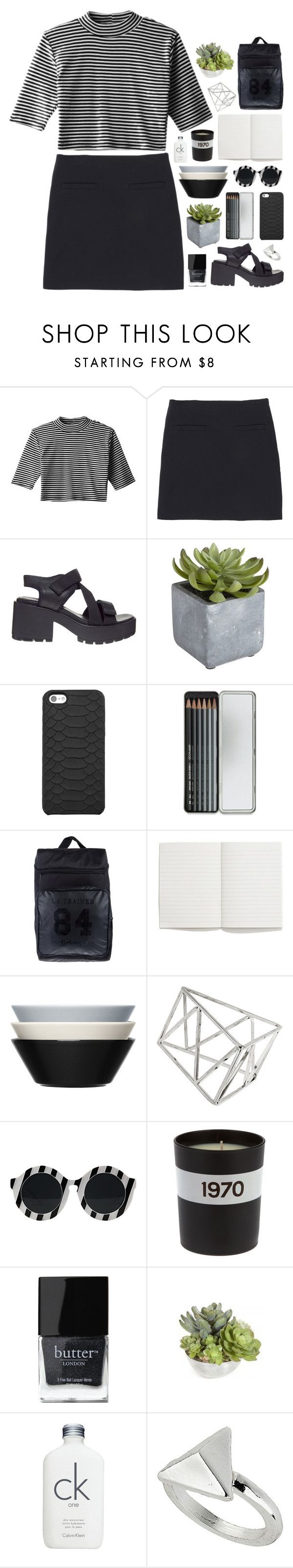 """LIAM JAMES PAYNE"" by feels-like-snow-in-september ❤ liked on Polyvore featuring Uniqlo, Vagabond, Pier 1 Imports, GiGi New York, Caran D'Ache, adidas Originals, Madewell, iittala, Topshop and Bella Freud"