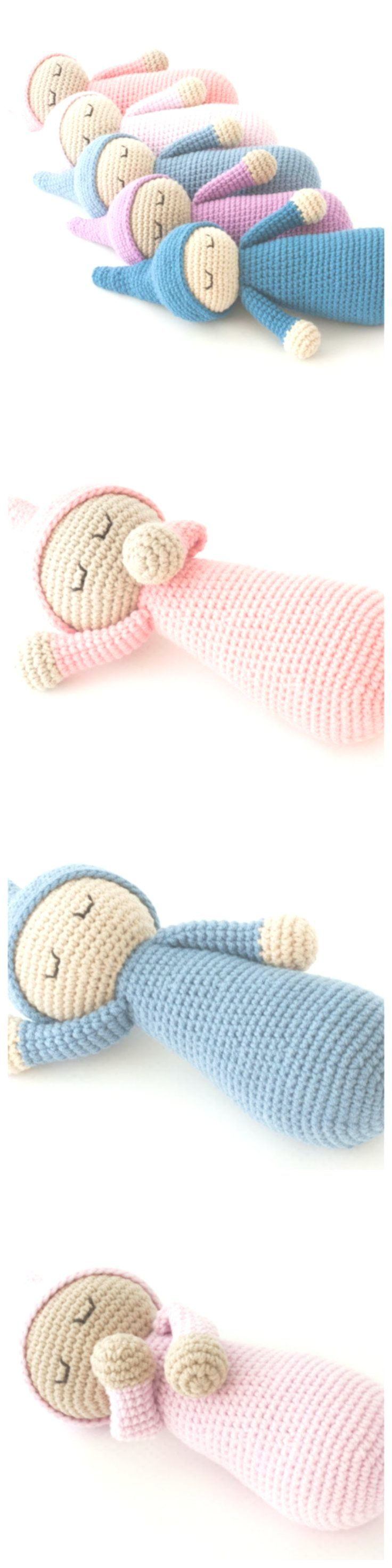 Crochet Sleepyhead Doll – Free Pattern
