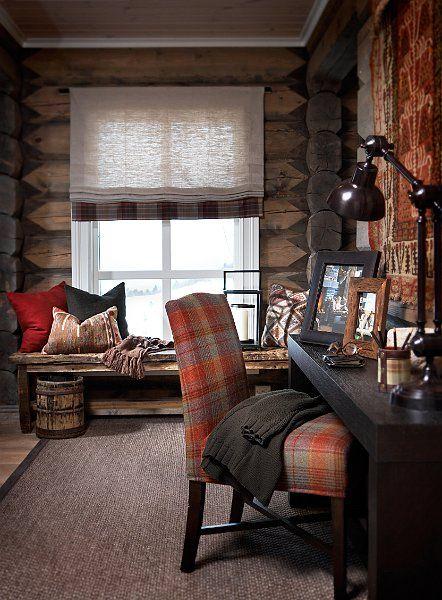 Stockholm Vitt - Interior Design: Chic Ski Lodge
