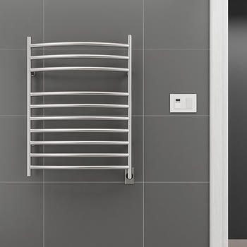 Ancona Comfort 10S Electric Towel Warmer and Drying Rack