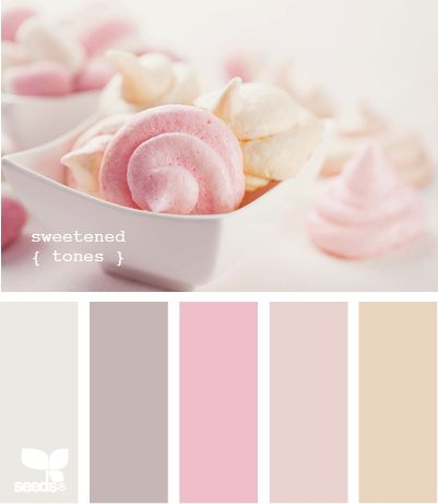 Colour scheme: sweetened tones