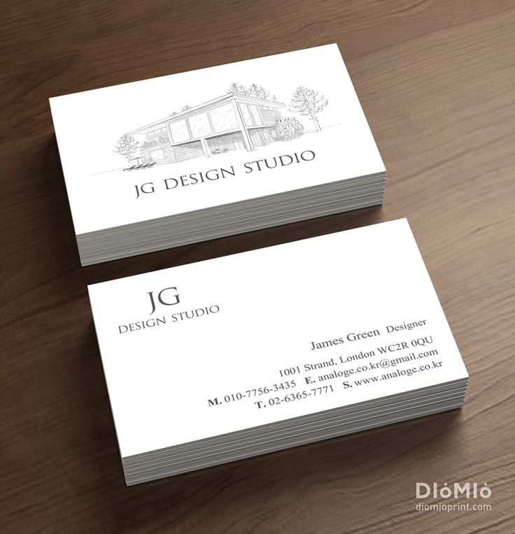 Architectural Firm Business Cards