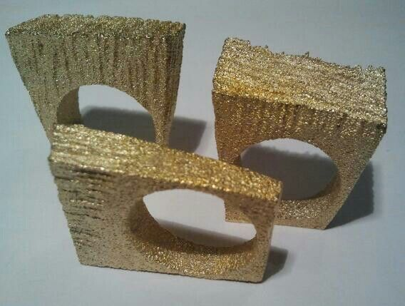 Brass Rings Gold-plated