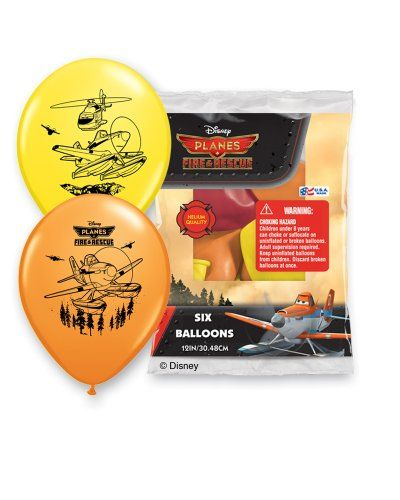 "Pioneer National Latex Disney 12"" Planes Fire and Rescue 6 Balloons, Assorted Pioneer National Latex http://www.amazon.com/dp/B00JXL09JO/ref=cm_sw_r_pi_dp_rJilub02Z9QBZ"