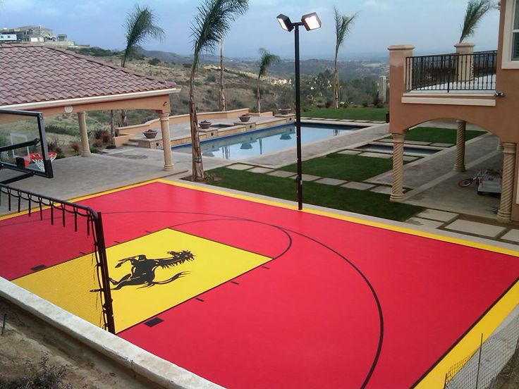 8 best custom home gym by snapsports images on pinterest for Basketball court at home