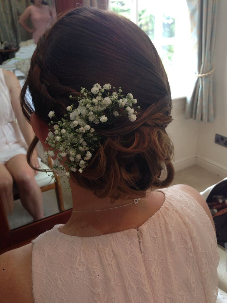 rachael white freelance stylist gyp flowers low loose updo - Freelance Stylist
