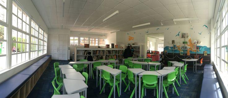 Biblioteca infantil gimnasio moderno Bogotá