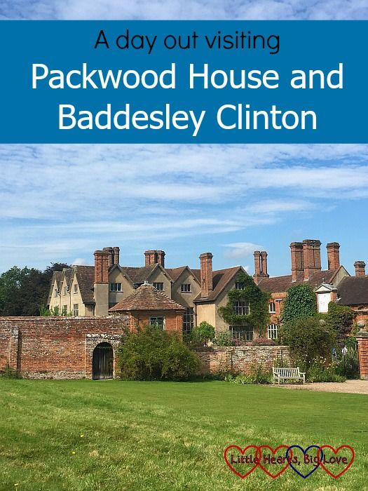 """A view of the Packwood House - """"A day out visiting Packwood House and Baddesley Clinton"""" #daysout #warwickshire"""