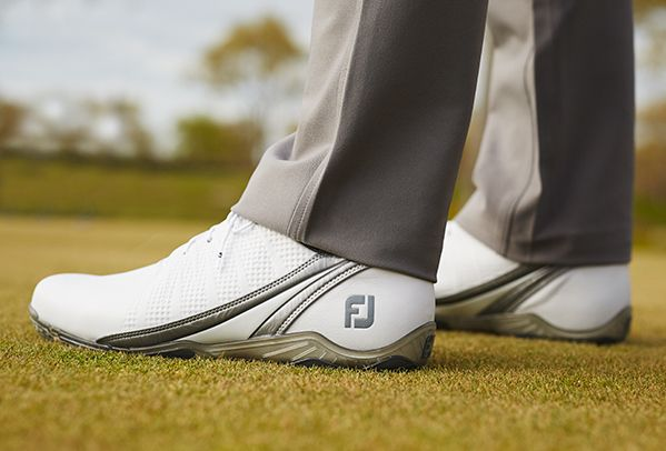 D.N.A. (DryJoys Next Advancement) men's golf shoes embody the most proven elements of the world-renown DryJoys franchise with new, cutting-edge design and construction methodology.