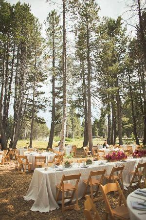 Outdoor Lake Tahoe Wedding