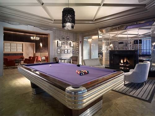 Game Room With Pool Table Photos