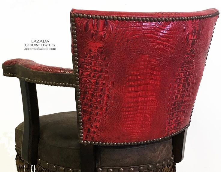 Western  Leather Bar Stools ONLINE