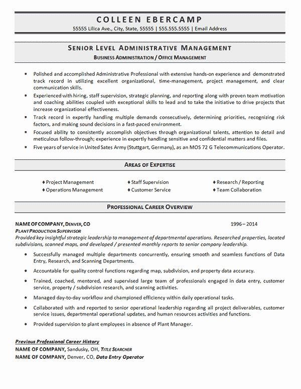 Phd Industry Resume Example New Business Administration Resume Example Resume Examples Business Administration Internship Resume