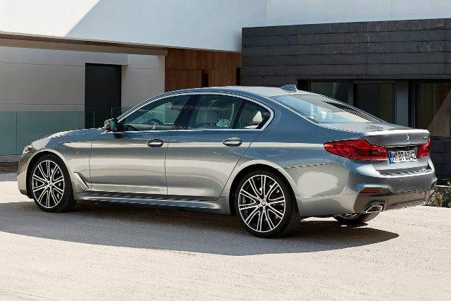 Here is the 2017 BMW 5 Series - Car Keys
