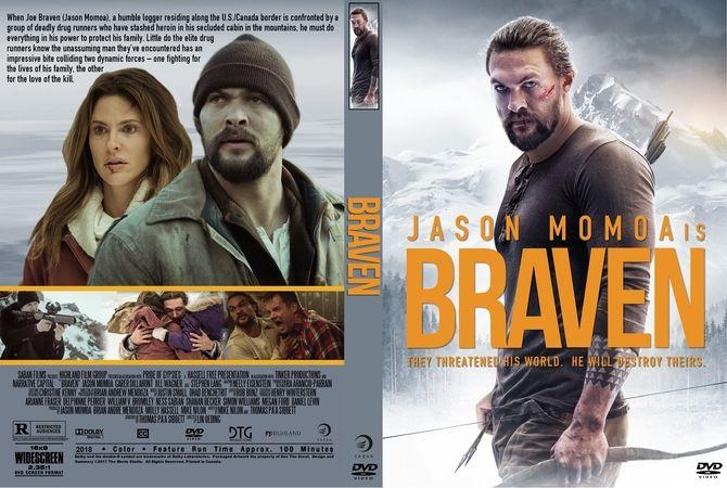 braven  2018  dvd custom cover