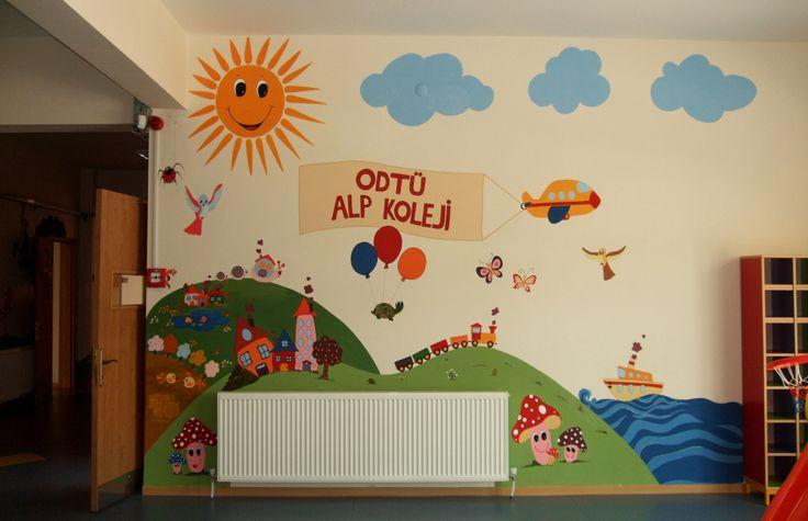Anasınıfı duvar resmi