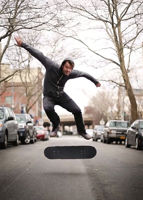 One Loop Portrait a Week - #19 Roy Stanfield approves this kickflip www.romain-laurent.com facebook/instagram/agent