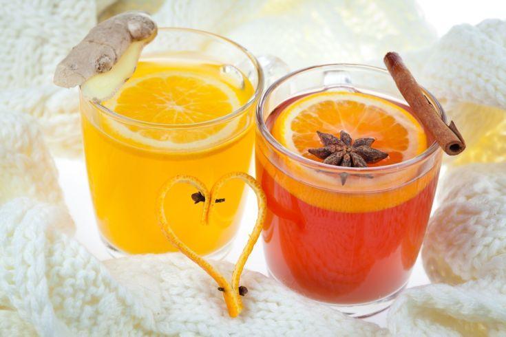 Medový pomarančový punč
