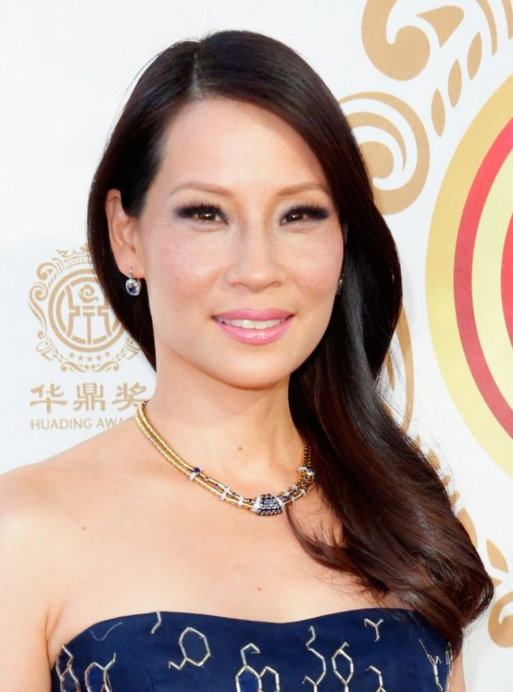 Lucy Liu at the 2014 Huading Film Awards in Los Angeles