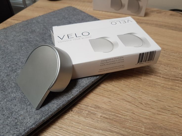 Velo is on its way. Visit our store  now! www.velomyblind.com.au