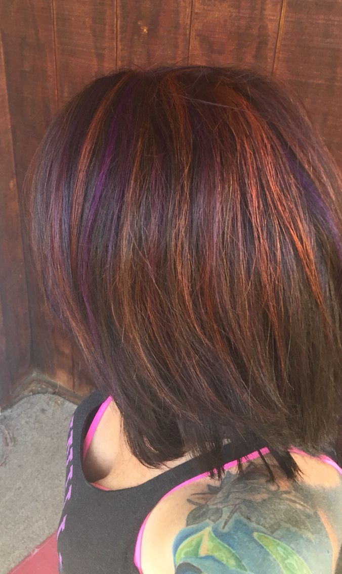 Best 25+ Orange highlights ideas on Pinterest | Brown hair ...