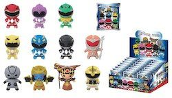 Power Rangers 3D Foam Keychain Set