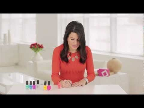Cute! Nail blogger Miss Ladyfinger shows us how to get a perfectly polka dot manicure for Spring.