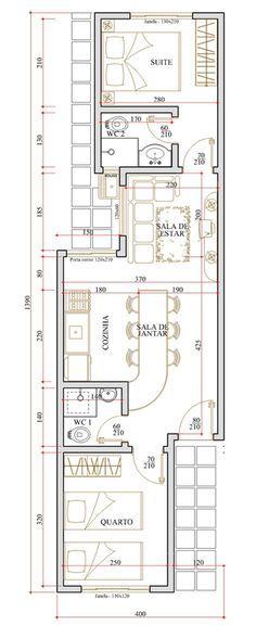 Las 25 mejores ideas sobre planos de vivienda estrecha en for Distribucion de apartamentos de 40 metros