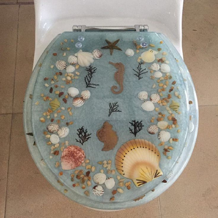 Best 25 Seashell Toilet Seat Ideas On Pinterest Beach
