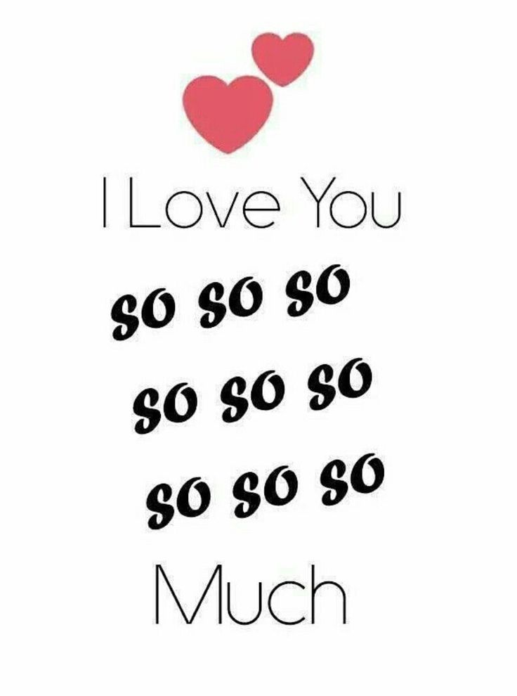 I love you still sooooo sooo so much :))