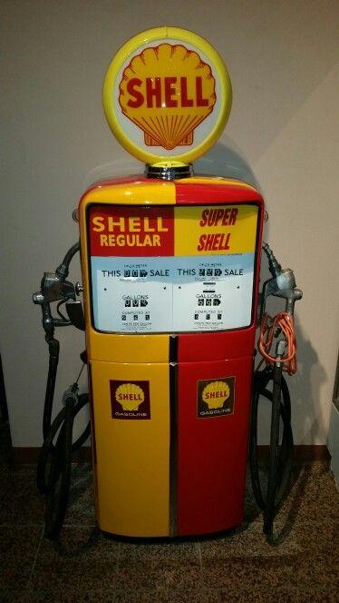 Shell Gas Pump, Blackhawk Automotive Museum, Danville California 2015