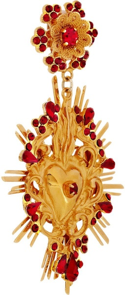 Dolce & Gabbana Goldtone Swarovski Crystal Clip Earrings in Gold - LystGabbana Gold Ton, Gabbana Goldtone, Dolce Gabbana, Goldtone Swarovski, Gold Ton Swarovski, Swarovski Crystals, Earrings 1 520, Crystals Clips, Clips Earrings
