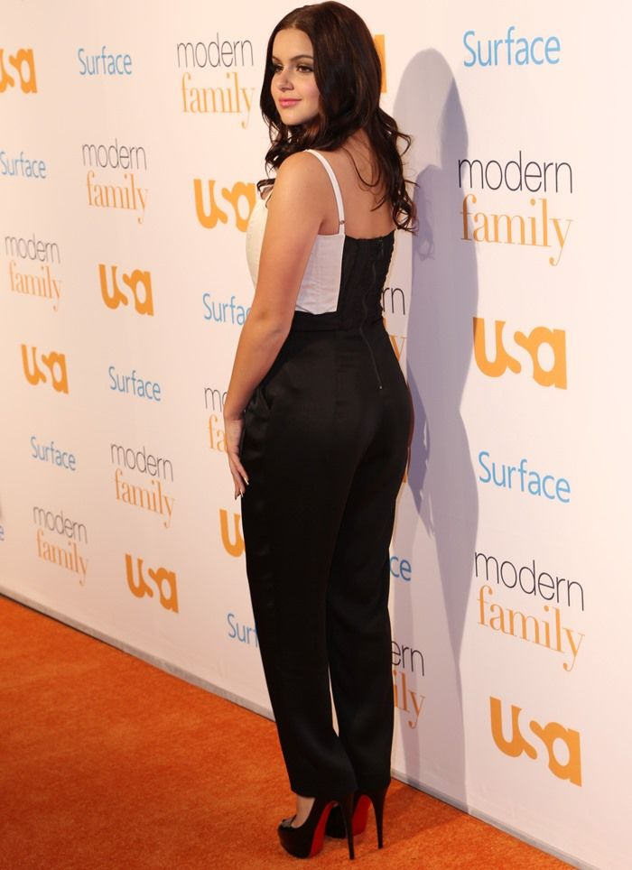 Ariel Winter at USA Network's 'Modern Family' Fan Appreciation Day held at the Westwood Village Theatre in Los Angeles, California, on October 28, 2013