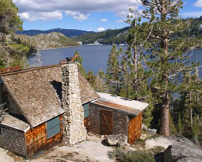 Someday I'd love my own cabin at Lake Tahoe.