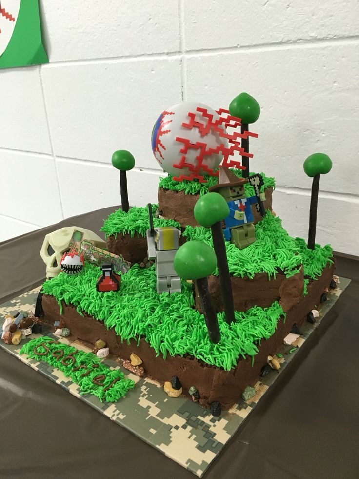 Terraria Birthday Cake In Game