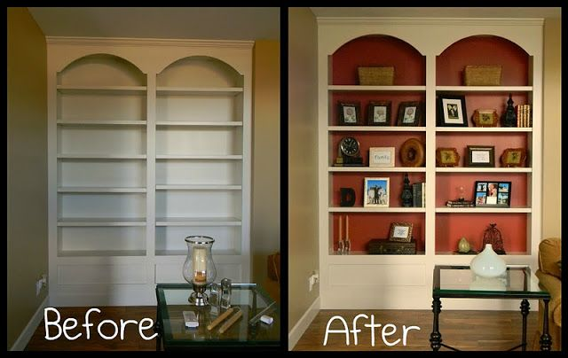 pinterest painted bookshelves likewise - photo #36