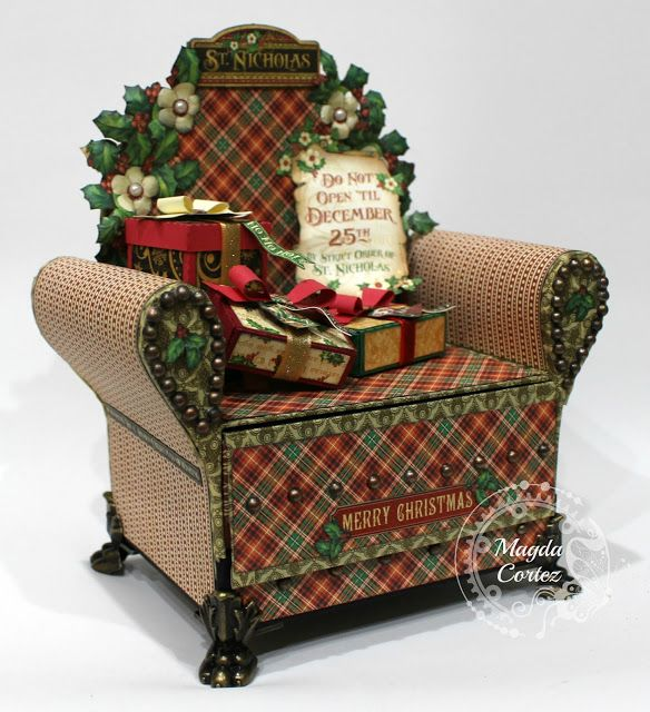 AxeS DeSiGnS: St. Nicholas Chair Mini Album!!