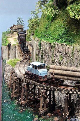 Yutaka Nakai YutaAtelier 110429 HOe Narrow gauge Light Railroad Small Layout
