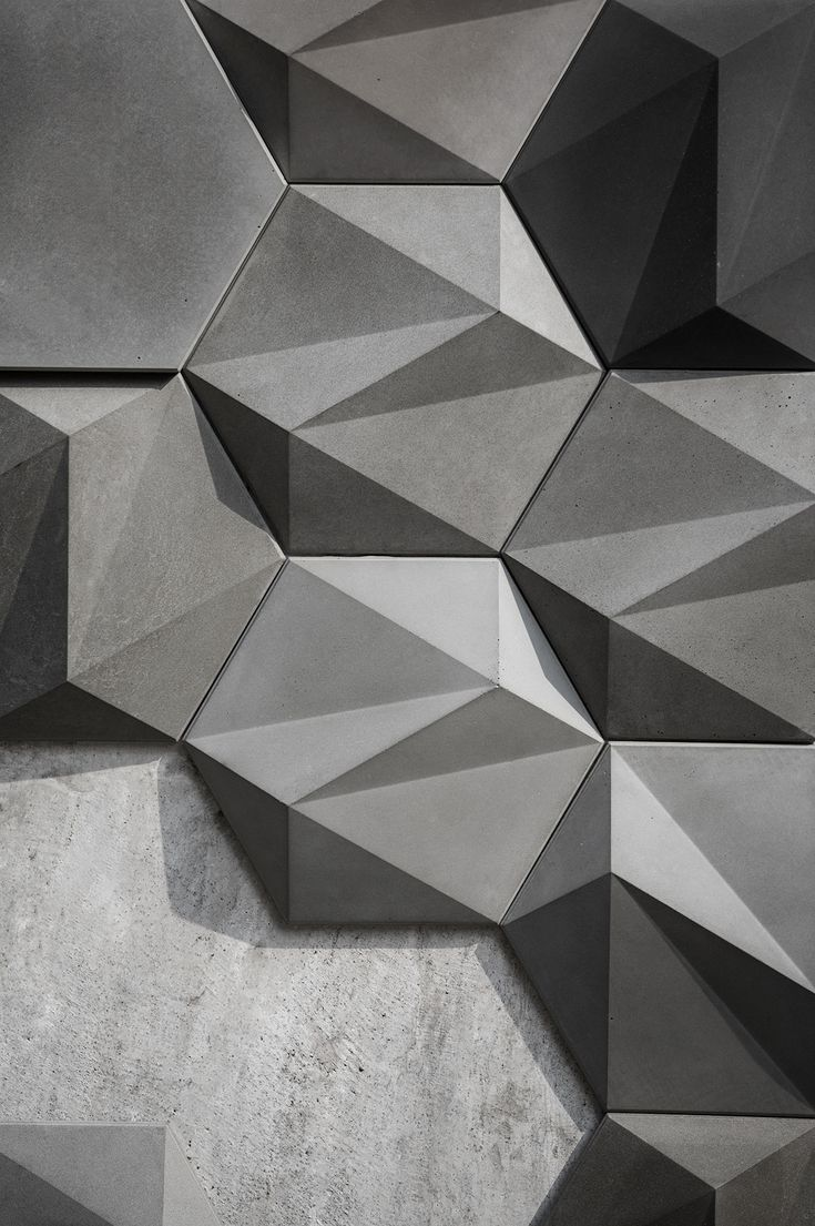 Concrete Wall Decoration - SAN on Behance
